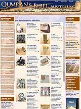 Homepage Bibelausstellung